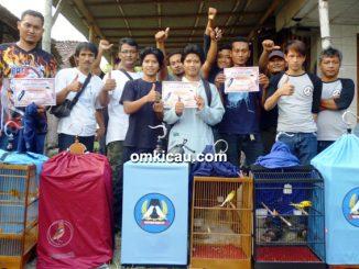 PKP borong dua gelar juara 1 di kelas kenari