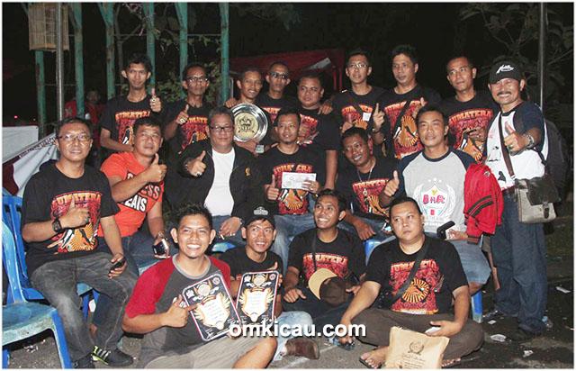 Sumatera Team runner-up BC