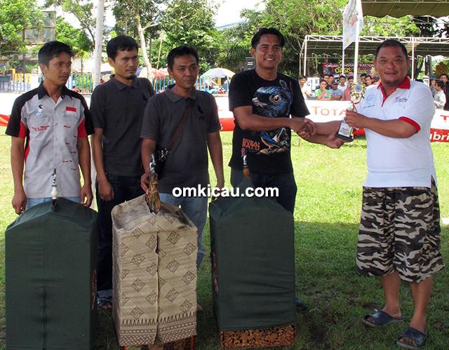 Troopz Indo Cup Jambi - Juara kacer