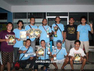 Walet Team juara umum BC