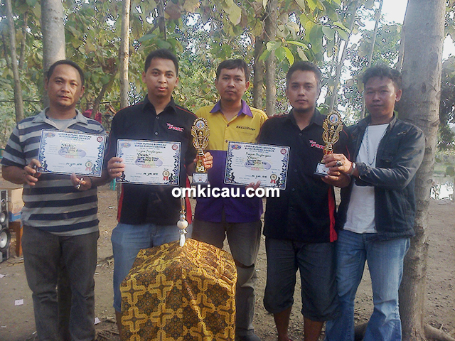 Halal Bihalal BBC - Mr Agung PMC double winner di kelas kacer