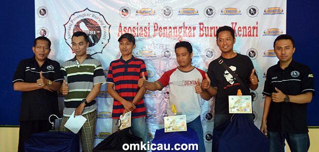 Juara Kelas Reguler Latber APBRI Boyolali