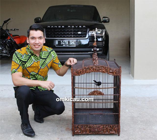 M Kadafi dan kacer Rincong Aceh