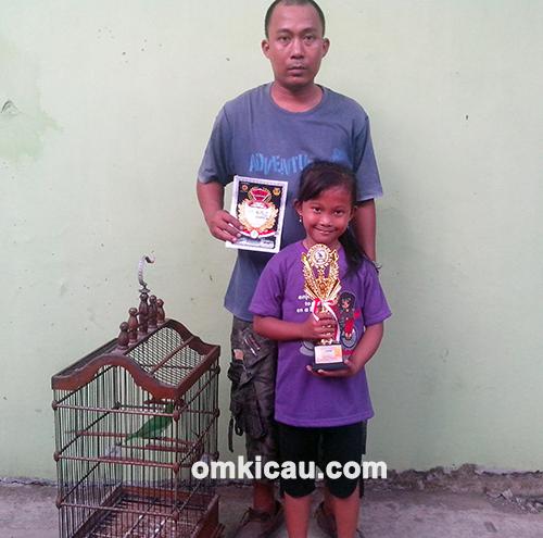 Mr Jenal (Gebang BC Cirebon) dan cucak ijo Pandawa