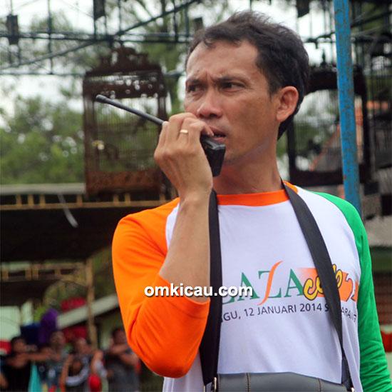Om Samuel, ketua pelaksana Danlanal Cup