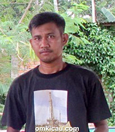 Om Bawik, pemilik SBH BF Kabupaten Muara, Jambi.