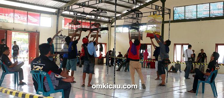 Kontes kenari PPK-3 Jakapodang Klaten