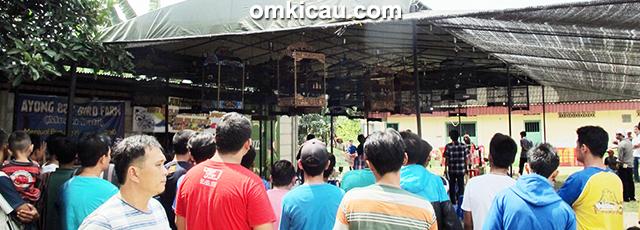 Suasana lomba Lapangan Kadaci Jambi