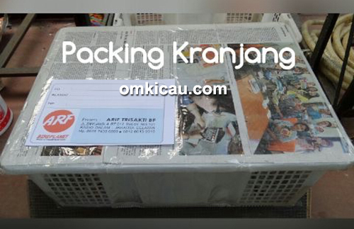 ARF Courier Animals - Pengepakan model keranjang