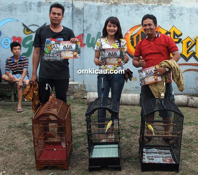 Babang Berdarah Jambi - juara 1-3 kacer