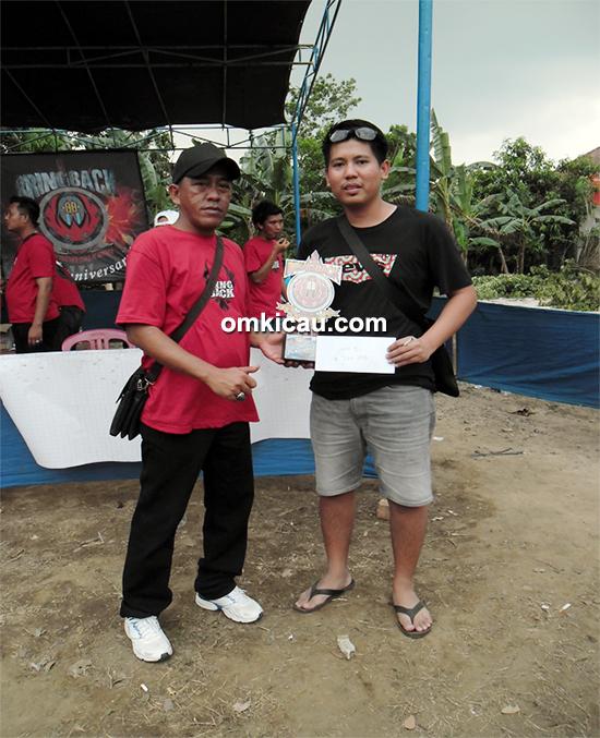 Muara Enim Team juara umum