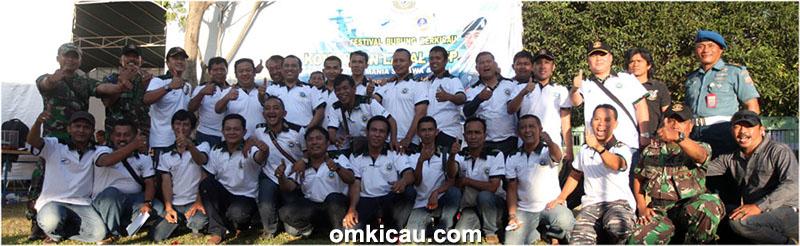 Panitia dan tim juri Danlanal Cup Semarang