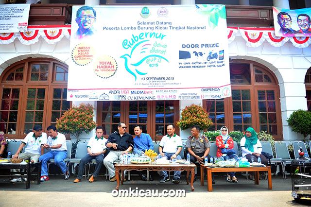 Bang Boy bersama Wali Kota Bogor Bima Arya