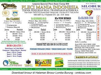 Brosur Latpres Special Pleci Base Camp KM - Pleci Mania Indonesia, Depok, 19 September 2015