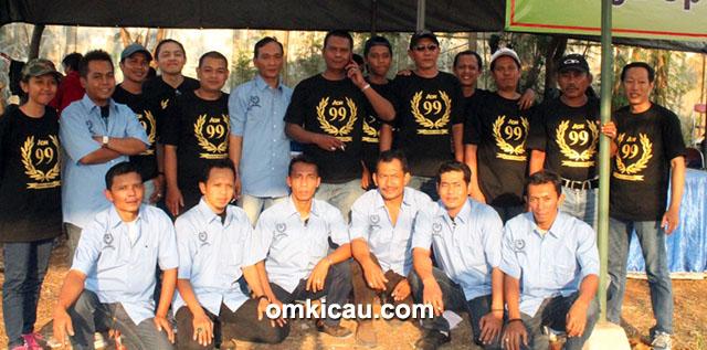 Juri dan Panitia Launching AON 99 Depok