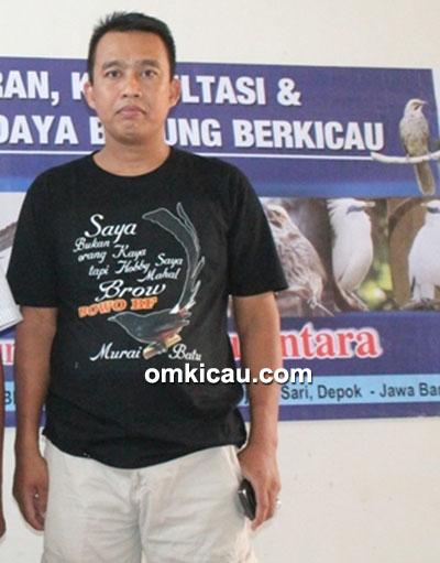Om Saidi, pemilik breeding murai Bowo BF