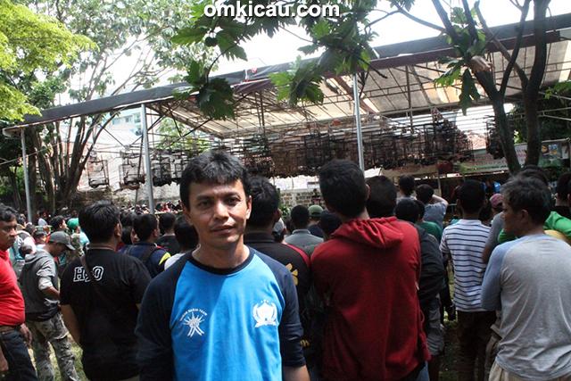 Om Ubay, ketua Taman Radja