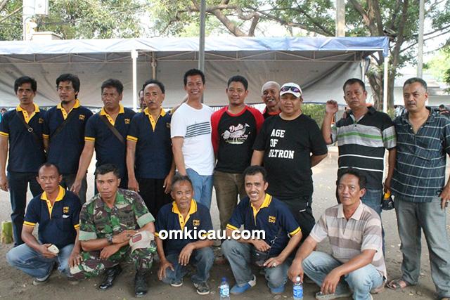 Panitia lomba Halim Cup dan juri PBI DKI Jakarta