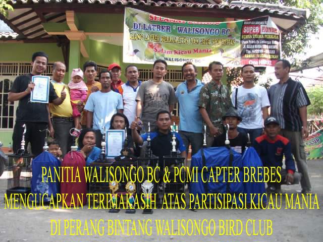 Panitia Walisongo BC dan PCMI Chapter Brebes