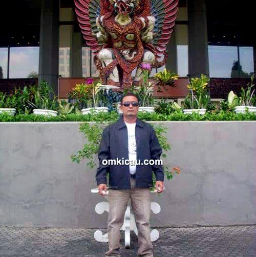 Om Dalpewan, ketua Dharmasraya BC