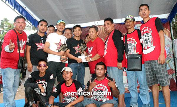 H Fitri BKS juara Umum SF di Jaya Lestari Cup