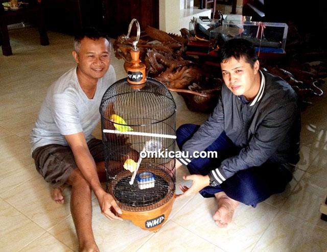 H Sigit WMP (kiri) dan Om Feri Lampung