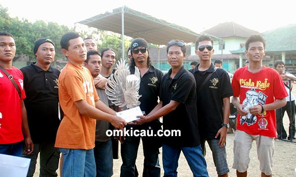 Jalak Bali Team juara umum BC