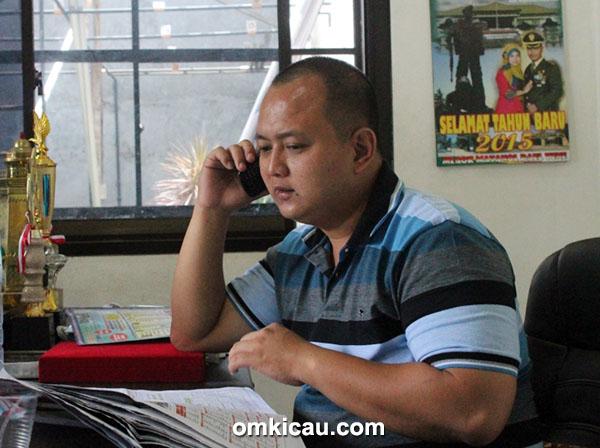 Om Eko, owner Jaya Alumunium.