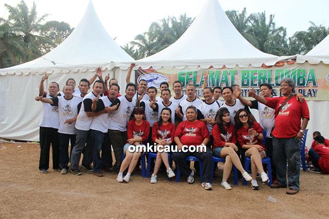 Panitia dan juri Jaya Lestari Cup