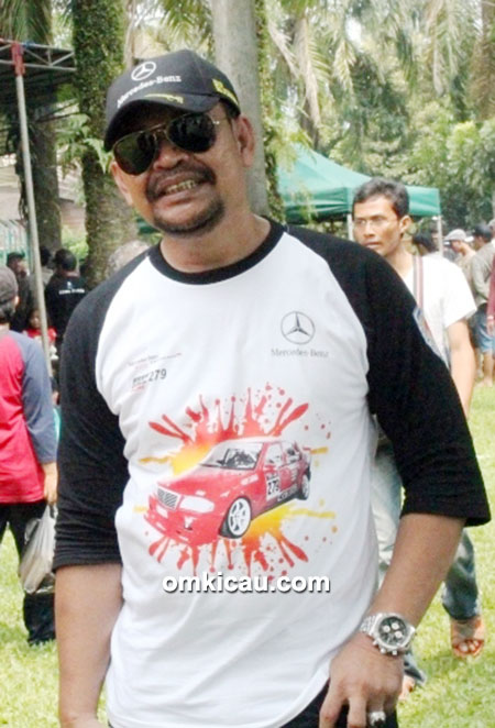 Om Deny Halim, ketua PBI Cabang DKI Jakarta.