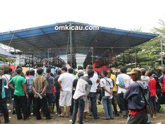 Lomba burung berkicau Road to Polo Home Cup Bogor