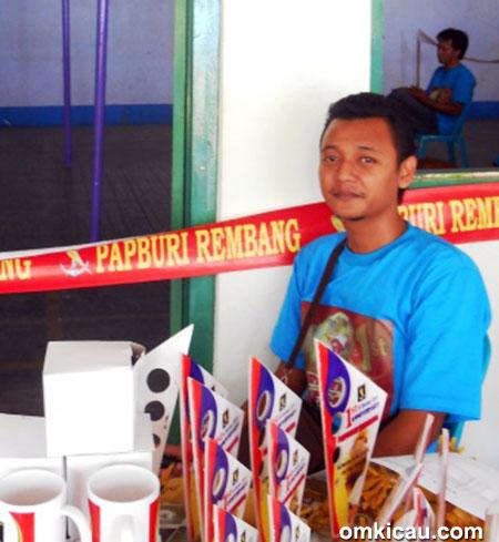Mr Kecik Sawo, ketua Papburi Rembang.