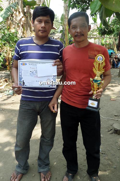 Mr Pendri dan Mr Koyim juara di Kelas MB Exclusive