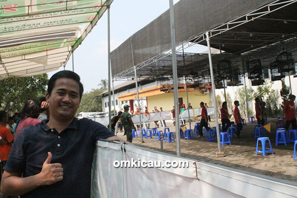 Om Edy Prabowo, owner EP 24 Enterprise