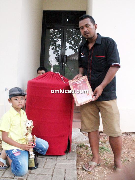 Om Jito bersama MB Warok