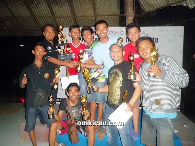 Kimcil BC juara umum