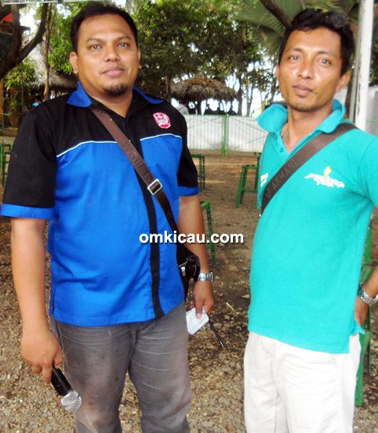 Rizal BSC (kiri): Kami tunggu di Grand Opening BSC (Minggu, 1/11).
