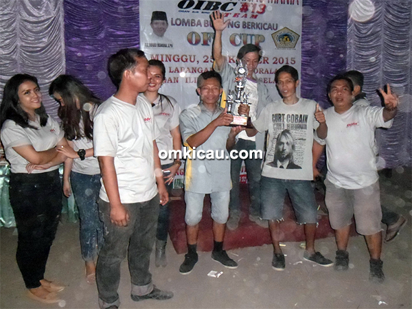 SVN Canary Palembang juara umum SF