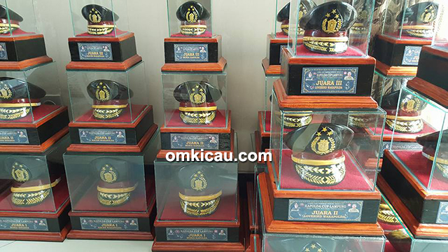 trofi Kapolda Cup Lampung