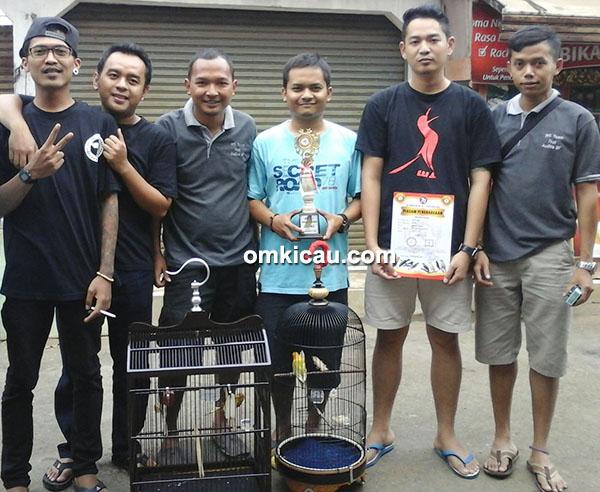 WS Team Banjarnegara dan lovebird Badai