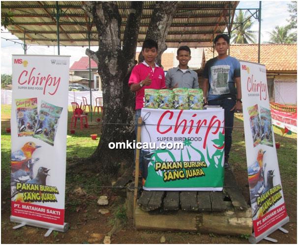 Chirpy sponsor Liga SRJ Seri III