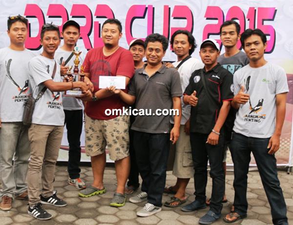 Duta Wali Kota Cup Solo (20/12) juara umum BC