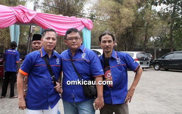 Trio punggawa Jagakarsa Team