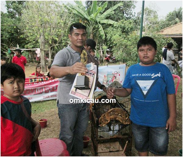 Kapas tembak Badai milik Om Lamat Baron (DBC)