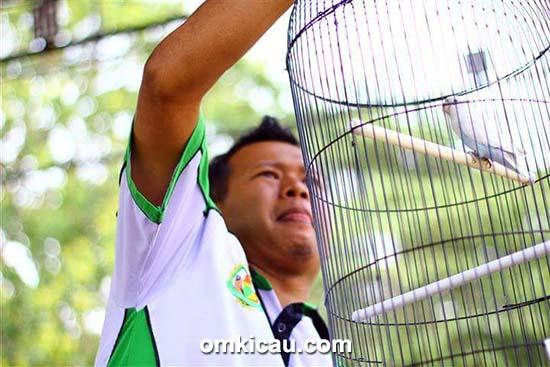 Om Nanang Kris dan lovebird DJ Krisna