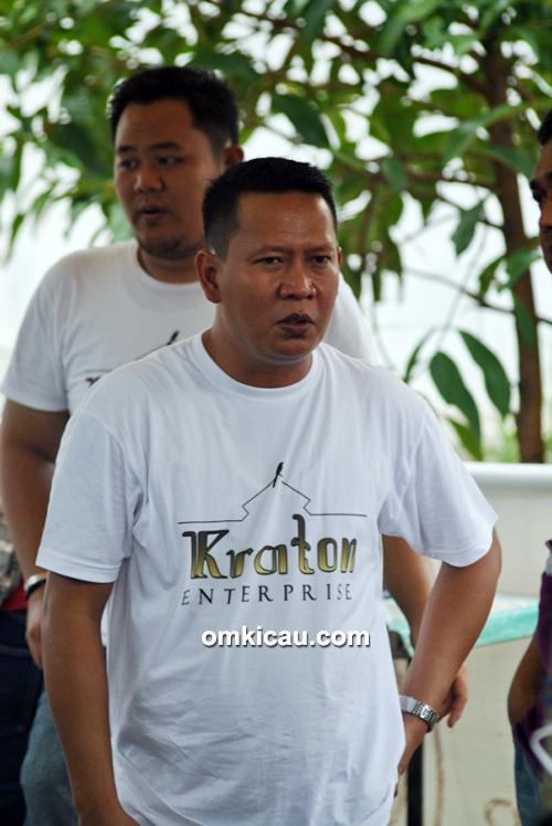 Om Dicky, owner Kraton Enterprise