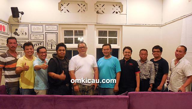 Panitia Bintang Jagad Cup bersama Bang Boy