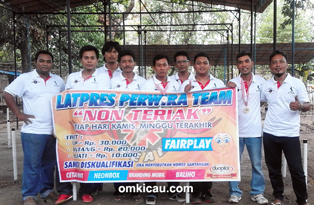 Panitia 2nd Anniversary Perwira Team / Perwira Cup II