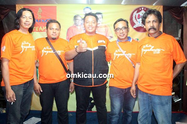 Para punggawa Jayakarta Cup