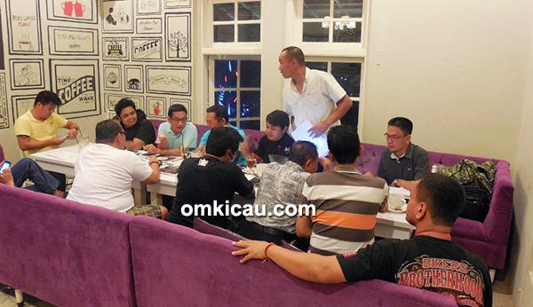 Rapat panitia Bintang Jagad Team bersama BnR